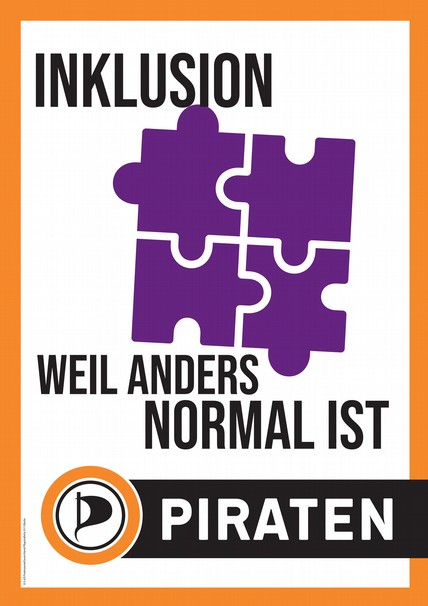 Inklusion, weil anders normal ist.