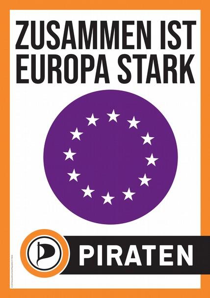 Zusammen ist Europa stark.