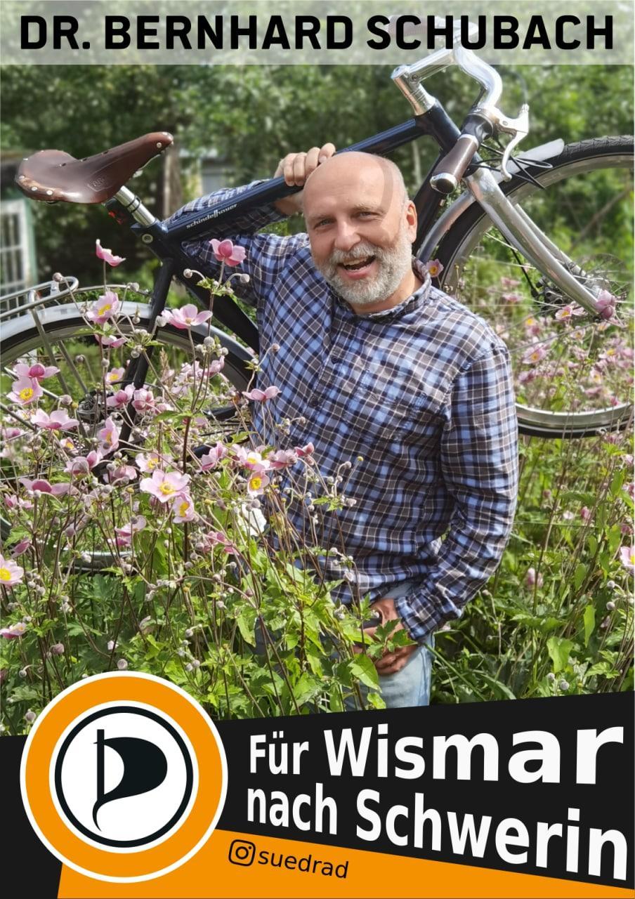 Für Wismar nach Schwerin.
